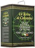 Le Terre di Colombo – 100 % Italienisches Natives Olivenöl Extra, Dose, 3 l