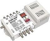 DUR-line DCR 5-1-8-L4 SCR-Schalter - Einkabellösung für 8 SCR-Teilnehmer + 4 Legacy Ausgänge [ Test SEHR GUT *]