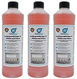KaiserRein Profi Sanitär-Grundreiniger (3 x 1 L) extra starker Sanitärreiniger WC, Fliesen Bad, Boden Urinsteinlöser, Kalksteinlöser, Fliesenreiniger