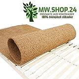 MW.Shop.24 Hochwertiger Kokosfaser für Lattenrost (90X200cm) - ATMUNGSAKTIVER/Anti-ALLERGISCH/GEGEN MILBEN Matratzenschoner - Schützende Matratzenunterlage - Made in EU