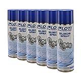 6X Lott Silikonspray 500ml / Silikon Spray Schmierstoff Schmiermittel Siliconespray