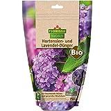Florissa Natürlich 58736 BIO Dünger für Hortensien und Lavendel mit ProtoPlus im wasserdichten, wiederverschließbaren Beutel | biologisch GÄRTNERN Gütesiegel | haustierfreundlich, Braun
