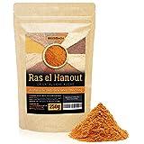 Ras el Hanout • orientalische Gewürzmischung • 250g gemahlenes Raz el Hanut Gewürz • marokkanisch arabische Gewürzmischung für Tajine, Couscous und mehr