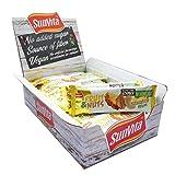 Sunvita Fruchtriegel mit Dattelbasis köstlicher Frucht-Nussriegel ohne Zuckerzusatz, 100% Natürlich - Vegan, 24er Pack (24 x 30g) (Ananas-Cashewnüsse-Mandel)