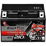 BlackMax YTX12A-BS Motorradbatterie GEL 12V 12Ah 210A CTX12A-BS YTZ12S GT12A-BS