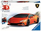 Ravensburger 3D Puzzle Lamborghini Huracán EVO - 3D Puzzle für Erwachsene und Kinder ab 8 Jahren, Modellauto, Modellbau ganz ohne Kleber