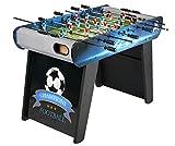 Leomark Champions Kickertisch Fußballtisch Kindertischkicker Inkl. 2 Kickerbälle Fußballtisch Für Die Familie Tischfussball Kinder Und Erwachsene