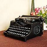 Retro Vintage Schreibmaschine Mechanische Schreibmaschine Englische Display Requisiten Modell Handmade Bar Dekoration Komfort Zuhause Retro Shabby Chic Vintage Bleistift Halter Schreibtisch Organizer
