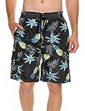 Unibelle Badeshorts Herren Kurz Print Grafik Strand Surf Board Shorts Schnelltrocknend Beachshorts Boardshorts Strand Shorts Trainingshose