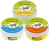 Körperpeeling SET FRESH 840g, 3 frische Salz-Peelings zum SPARPREIS, sea salt scrub vegan, natürlich ohne Mikroplastik, Duschpeeling ohne Konservierungsmittel, Naturkosmetik, Geschenke