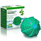 Waschklar® Premium Waschball   Saubere Wäsche ohne Waschmittel - Nachhaltig, vegan & zero waste, Nachhaltige Produkte, Waschkugel für Waschmaschine, Öko und Bio Wäscheball