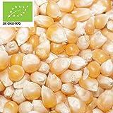 14,85€ (7,43€ pro 1kg) 2000g Bio Popcorn-Mais Plastikfrei verpackt | 2 kg | BIO-Mais für Popcorn ohne Gentechnik | Popcornmais | kompostierbare Verpackung | DE-ÖKO-070 - STAYUNG
