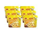 MAGGI Topfinito Kartoffelsuppe mit Würstchen: fertige Kartoffelsuppe mit Fleisch & Gemüse, für die Mikrowelle, deftiger Klassiker, 6er Pack (6 x 380 g)
