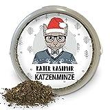 Kater Kasimir Katzenminze (Catnip) 60g XXL Dose - Weihnachten Sonderedition