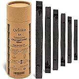 orinko – Binchotan Bio 6X | Aktivkohle Takesumi aus Bambus zur Wasserreinigung | Gehen Sie Wasser in Flasche mit unserer Aktivkohle [