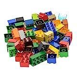 60 x LEGO DUPLO BASIC STEINE 10 Stk. 2 x 4 Noppen und 50 Stk. 2 x 2 bunt gemischt BAUSTEINE
