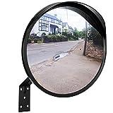 ONVAYA® Verkehrsspiegel 30 cm | Konvexspiegel zur Einsicht von toten Winkeln | Sicherheitsspiegel | Überwachungsspiegel | Panoramaspiegel
