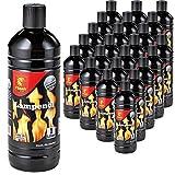 Boomex Flash Lampenöl Gartenfackel neutral klar Petroleumlampe Öllampe Laterne 1-24 Liter, Menge:24 L