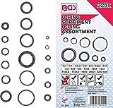 BGS 8044 | O-Ring-Sortiment | 225-tlg | Ø 3 - 22 mm| aus NBR gefertigt | inkl Sortimentskasten