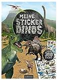 Meine Sticker-Dinos: Über 300 Sticker | Stickerheft für Saurier-Fans ab 4 Jahren (Mein Stickerbuch)