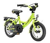 BIKESTAR Premium Sicherheits Kinderfahrrad 12 Zoll für Mädchen und Jungen ab 3-4 Jahre   12er Kinderrad Classic   Fahrrad für Kinder Grün