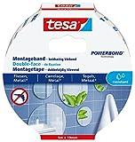 tesa Montageband für Fliesen und Metall (ideal geeignet als Spiegelklebeband)