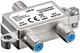 Goobay 51445 SAT-Schalter verteilt/schaltet 1 LNB auf 2 SAT-Receiver