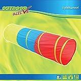 Outdoor active Spieltunnel in 3 Farben, Ø 47 x 180 cm