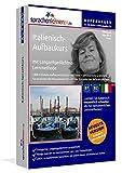 Italienisch-Aufbaukurs: Lernstufen B1+B2. Lernsoftware auf CD-ROM + MP3-Audio-CD für Windows/Linux/Mac OS X. Fließend Italienisch lernen für Fortgeschrittene mit Langzeitgedächtnis-Lernmethode