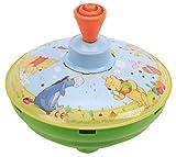 Bolz 52480 Brummkreisel Winnie The, Ø 13 cm, Blech Schwungkreisel, Pumpkreisel erzeugt mehrstimmige Töne, Spielzeugkreisel für Kinder ab 1,5 Jahre, Blechkreisel aus Metall mit Disney's Pooh