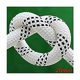 GXYAWPJ Seil Erregender Höhe Bedienung Reinigung Seil 20mm Verschleißfest und langlebig Geeignet for Klimaanlage-Installation (Size : 100m)