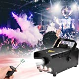 Hengda Nebelmaschine 500W Rauchmaschine Professionelle und Tragbare Halloween für Hochzeit Theater Party Club DJ Effekt