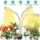 Led Pflanzenlampe Vollspektrum, Vogek 72W Grow Lampe für Zimmerpflanzen, 144 LEDs Pflanzenlicht mit Timing Funktion, 3 Timer 3/6/12H, 3 Arten von Modus, 10 Helligkeitsstufen