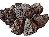 Der Naturstein Garten 10 kg Lava Saunasteine 4-8 cm - Sauna Steine Aufgusssteine - Lieferung KOSTENLOS