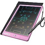 Bunte LCD Schreibtafel 10 Zoll LCD Writing Tablet Elektronischer Tablette Grafiktablet Digitaler Drawing Pad,Kinderspielzeug FÜR 3-12 Jahre Alte Mädchen (Rosa)
