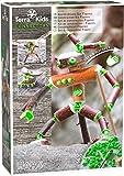 HABA 305343 - Terra Kids Connectors - Konstruktions-Set Figuren, Kinder-Bastelset für kreative Wesen, Verbinder aus Kunststoff für Holz und Kork, mit Handbohrer und Anleitung