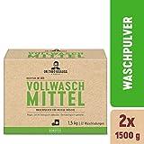 Dr. Theo Krauss Vollwaschmittel, Waschpulver, 44 Waschladungen, 2er Pack (2x 1500 G)