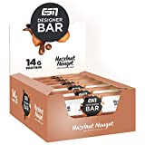 ESN Designer Bar Box – 12 x 45g – Hazelnut Nougat – Protein Riegel ohne Zuckerzusatz – High Protein – Lower Carb – Ohne Palmöl – Made in Germany