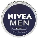 Nivea Men Creme im 1er Pack (1 x 150 ml), Hautcreme für Gesicht, Körper & Hände, pflegende Feuchtigkeitscreme mit frisch-maskulinem Duft