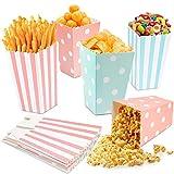 PapiertüTen,Popcorn TüTen,Candy Bar TüTen,Popcorn Boxes 20pcs,Popcorn TüTe Candy Container FüR Party Snacks SüßIgkeiten Popcorn PläTzchen Und Weihnachten Party Geburtstag Hochzeit GeschenktüTe