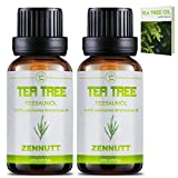 2 PACK Teebaumöl 100% Teebaum Öl Ätherische Öle Bio Naturrein Set für Shampoo Körper,Duft-Sets für Damen,Akne Öl,Acne Serum,Anti Pickel,Schuppen und Mitesser,Diffuser Massage Essential Tea Tree Oil