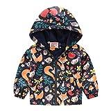 Shineshae Baby Jacke Winter Mantel Kapuzenjacke Ultraleicht Mäntel mit Kapuze Gepolstert Winterjacke Steppjacken(0-5 Jahre alt)