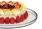 Pasabahce 10345 - Tortenplatte, Kuchenplatte, Cupcake Platte, Serie Patisserie, Ø 32,2cm