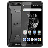 Blackview BV5500 Plus (2020) Outdoor Smartphone ohne Vertrag, Android 10,0 5,5 Zoll Display 3GB RAM+32GB Speicher, 4400mAh Akku, IP68 Wasserdicht, NFC, Face ID, 4G Dual SIM Günstige Handy (Schwarz)