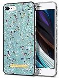 Coolden für iPhone 8 7 Hülle iPhone SE 2020 Glitzer Handyhülle Mädchen Bling Sparkle Stoßfest Case Schlank TPU Bumper Schutzhülle für iPhone 7/8 4.7 Zoll (Himmelblau)