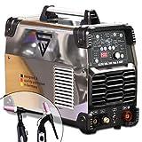 STAHLWERK AC/DC WIG 200 Puls D IGBT Chrom, digitales Schweißgerät mit 200 Ampere WIG & MMA, Job-Speicher, ALU & Dünnblech geeignet, weiß, 7 Jahre Garantie