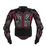 Gereton Motorrad Schutzjacke Protektorenjacke Herren Schutzkleidung Motocross ATV Racing Wirbelsäule Rücken Brustschutz