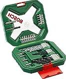 Bosch 34tlg. X-Line Classic Schrauber und Bohrer Set (Holz, Stein und Metall, Zubehör für Bohrmaschinen)