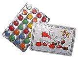 Mini Adventskalender to GO - mit Schokolinsen - Weihnachtskalender - Weihnachtsmann & Rentier (1)