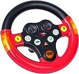BIG - Multi-Sound-Wheel - Lenkrad mit Verkehrssounds, für Bobby Cars ab dem Baujahr 2010, sowie für BIG-Traktoren, Spielzeuglenkrad für Kinder ab 1 Jahr